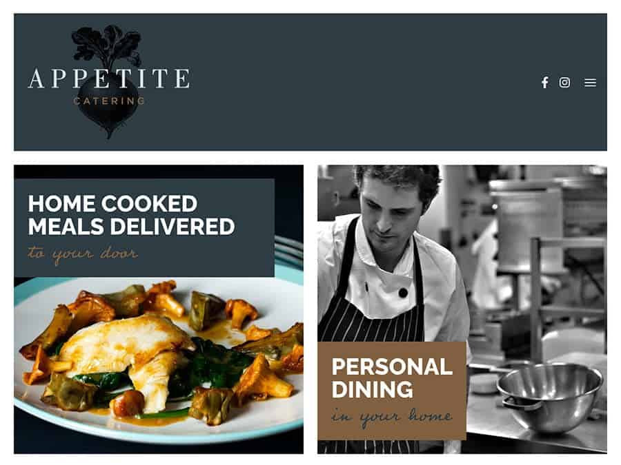 Appetite Website Preview